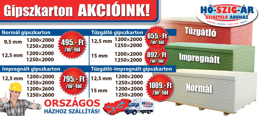 Gipszkarton_Akcó_HŐ-SZIG-ÁR