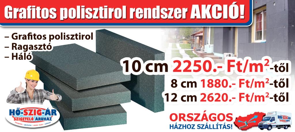 Grafitos polisztirol rendszer_Akció_HŐ-SZIG-ÁR