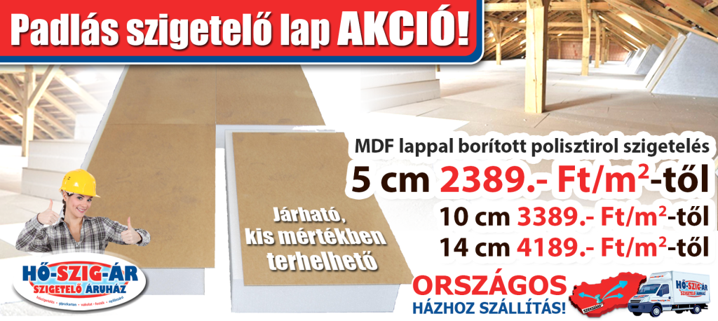 Padlas szigetelo lap_Akció_HŐ-SZIG-ÁR