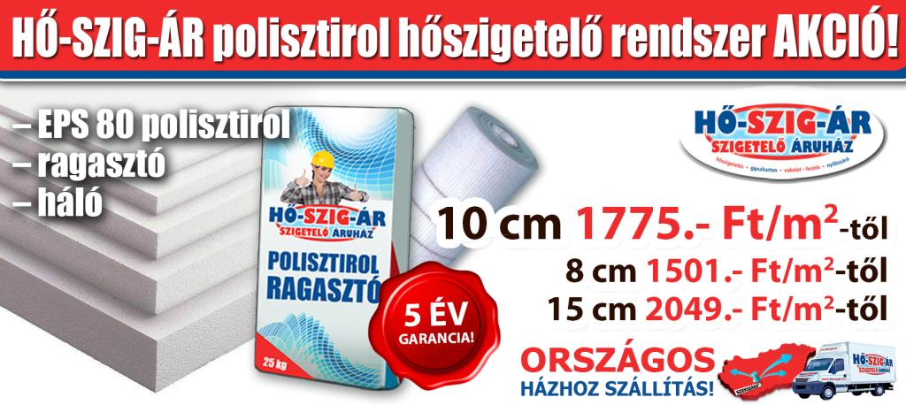 Polisztirol hoszigetelo rendszer_Akció_HŐ-SZIG-ÁR